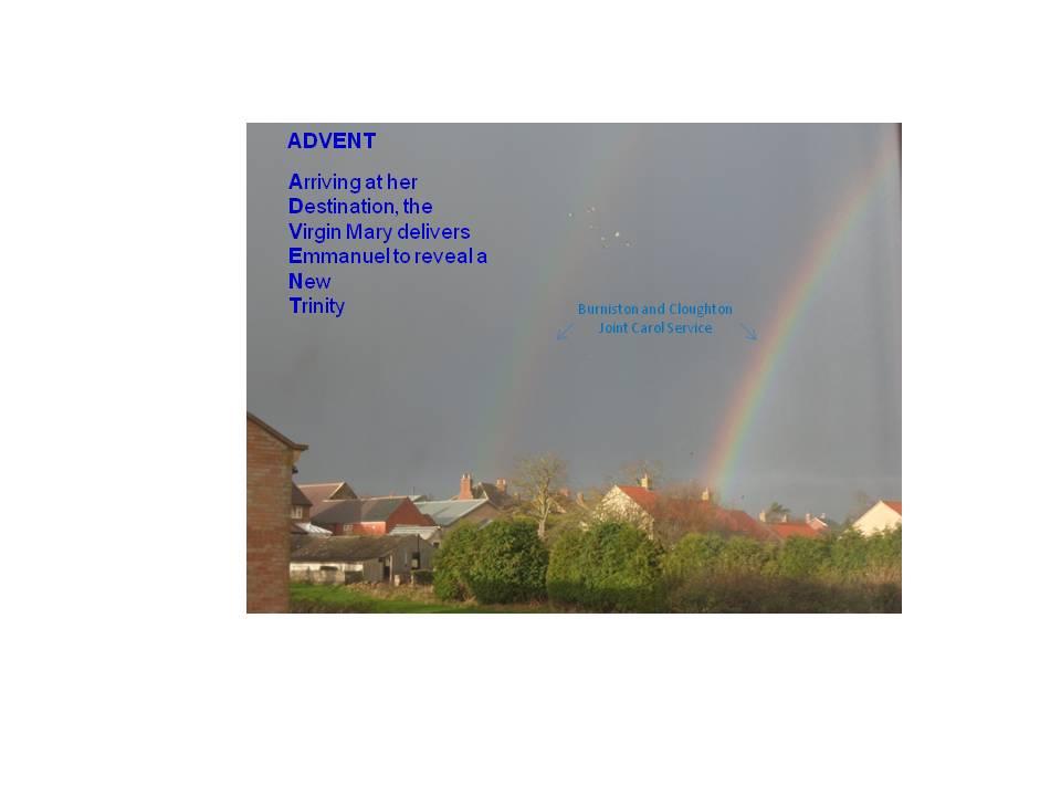rainbow carol service